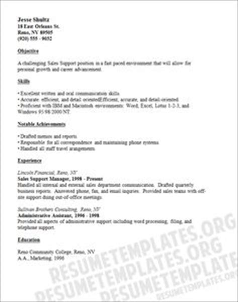 Phlebotomy Resume Sles by Entry Level Marketing And Sales Resume