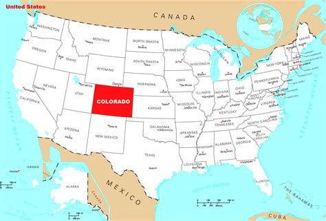 detailed location map  colorado state colorado state
