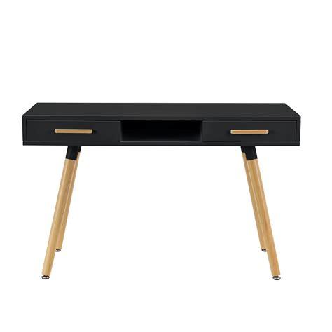 bureau ebay en casa rétro bureau noir 120cm table d 39 ordinateur