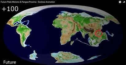 Continents Years Million Earth Move Predict Continue