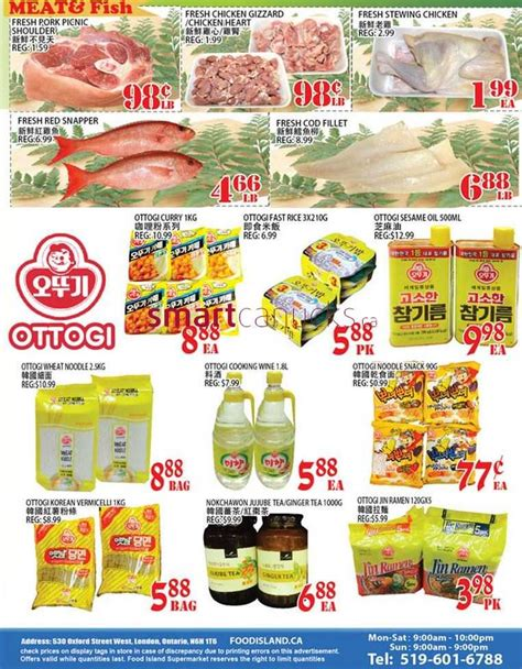 cuisine island food island supermarket flyer august 28 to september 3