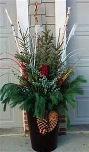 1000 images about Winter containers on Pinterest