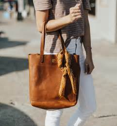 monogram tote bag livvyland austin fashion  style blogger
