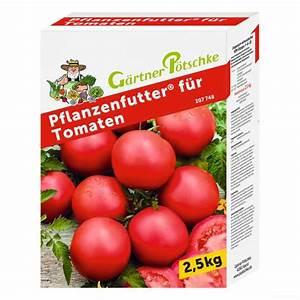 Dünger Für Tomaten : g rtner p tschke pflanzenfutter f r tomaten 2 5 kg online kaufen bei g rtner p tschke ~ Watch28wear.com Haus und Dekorationen