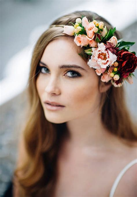 16 Flower Crowns For Your Fall Wedding Brit Co
