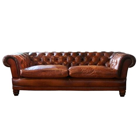 Contemporary Sofa Sale by Lewis Chatsworth Grand Leather Sofa Pads 2