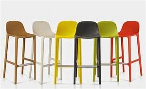 Tabouret 70 Cm : tabouret de bar hauteur assise 65 cm mobilier design d coration d 39 int rieur ~ Teatrodelosmanantiales.com Idées de Décoration
