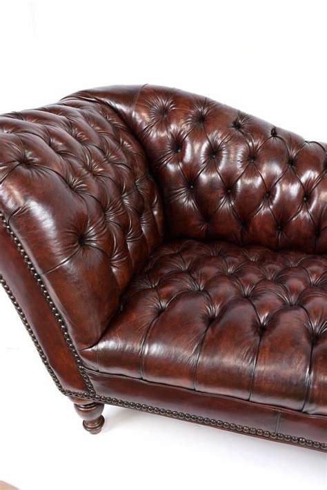 leather tufted sofa vintage chesterfield tufted leather sofa at 1stdibs 6896