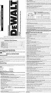 Dewalt Dws780 Type 1 User Manual Miter Saw Manuals And