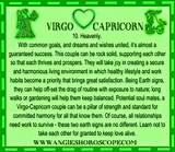 Capricorn girl and virgo boy