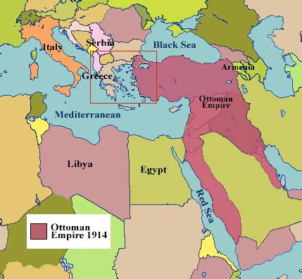 Ottoman Empire History Summary - breakup of the ottoman empire and the and