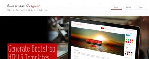 bootstrap design tool 7 reliable bootstrap design tools for 2014 creativevore