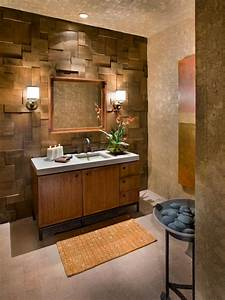 Wall designs for bathrooms : Ideas for bathroom wall color diy