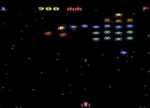 Game review: Atari Galaxian for #Atari 5200