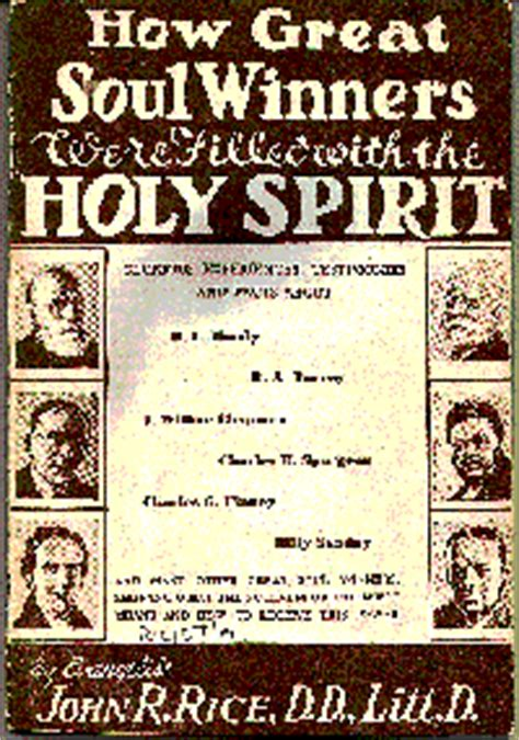saved to the uttermost the baptism of the holy spirit by dr r rice
