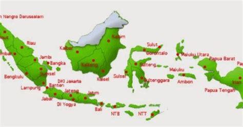 peta indonesia  didalamnya terdapat nama nama provinsi