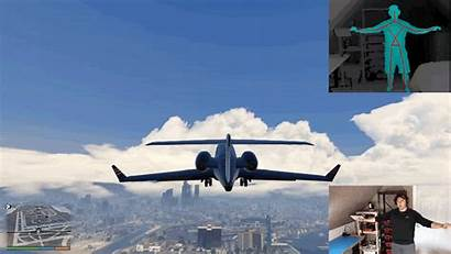 Plane Flying Mod Gta While Kinect Theft