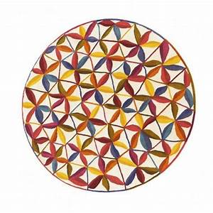 Tapis Rond Design : tapis rond meubles et atmosph re ~ Teatrodelosmanantiales.com Idées de Décoration