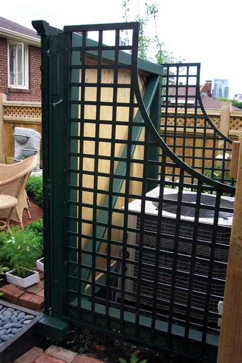 hide air conditioner cool ways to hide the air conditioner in your yard aol finance