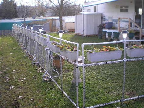 interesting fence  blockade idea   pvc pvc