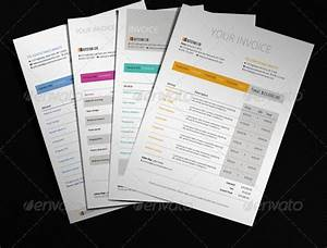 20 creative invoice template designs With creative invoice template