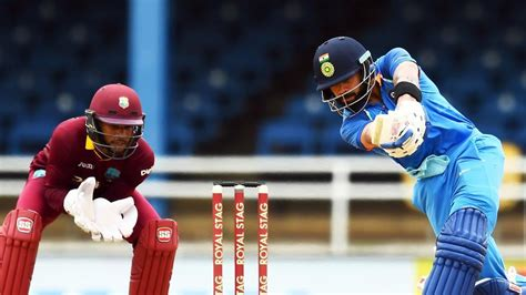 india  west indies  odi full cricket score ind