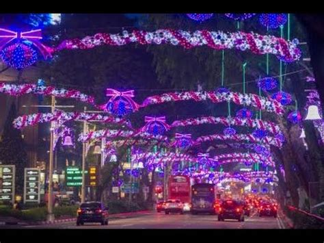 christmas lighting  orchard road singapore christmas