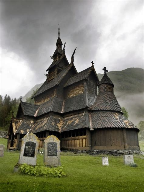 Photography Church Norway Medieval Wood Nordic Viking