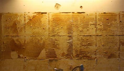 enlever du carrelage au mur enlever du carrelage mural