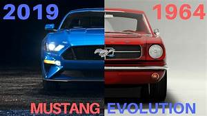 Ford Mustang Evolution (1964 - 2019) - YouTube
