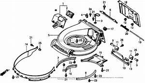 Honda Hrr216vka Parts Diagram