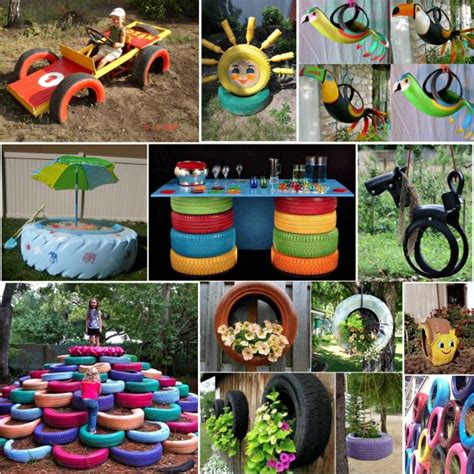 Tire Ideas For Backyard Awesome Projects That You'll Love