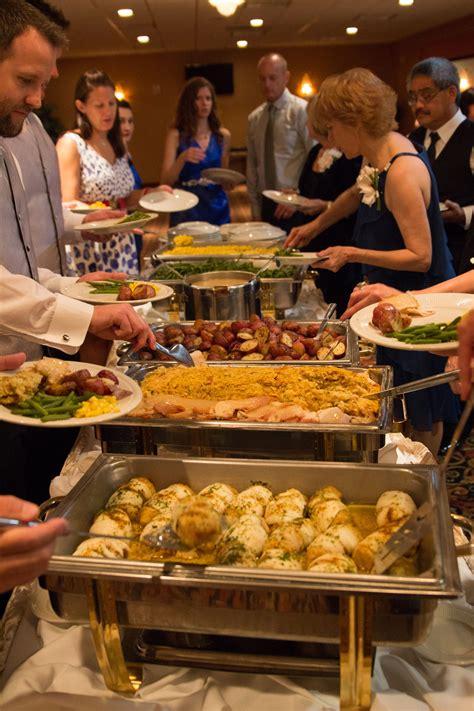 wedding reception food      budget