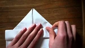Pliage De Serviette En Papier Facile Youtube : faire un bateau en papier pliage navire origami youtube ~ Melissatoandfro.com Idées de Décoration