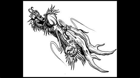draw  dragon head  thebrokenpuppet youtube