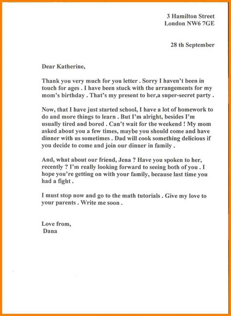 letter to my write letter to my friend best of informal letter format