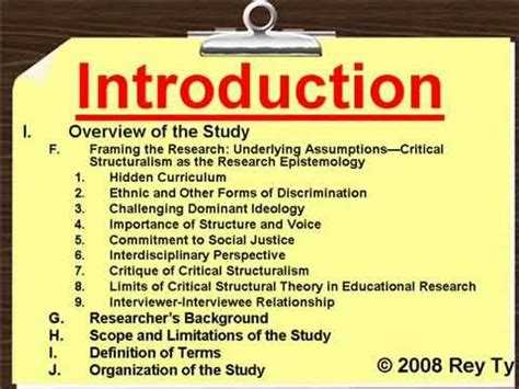 sample qualitative research outline rey ty youtube