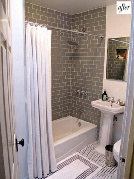 Grey Subway Tile Bathroom Gray Fog Subway Tiles