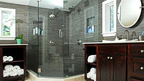 bathroom ideas in grey masculine and feminine bathrooms quot his quot and quot hers quot powder rooms