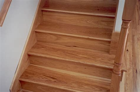 Tile Stair Nosing Profile by Select Hickory Stair Treads