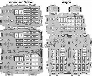 Fuse Box Diagram Ford Mondeo  Mk4  2007