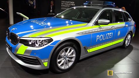2018 Bmw 530d Xdrive Touring Police Car