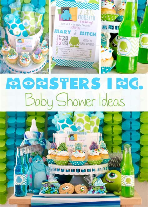 baby sprinkle decorations monsters inc baby shower ideas