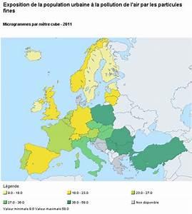 Carte Pollution Air : exposition population pollution de l 39 air par les particules fines ~ Medecine-chirurgie-esthetiques.com Avis de Voitures