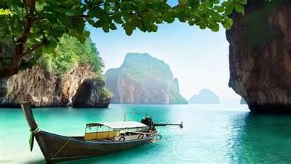 Thailand Desktop Wallpapers Backgrounds Beach Island Travel