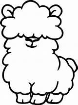 Llama Coloring Pages Alpaca Cute Drawing Line Llamas Printable Getcolorings Clipartmag Getdrawings Para Animal Colorear Adorable Print Articulo Bestcoloringpagesforkids sketch template