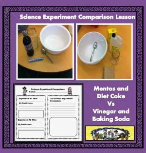 Exploding bags with baking soda and vinegar science lesson