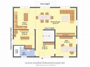 Grundriss Einfamilienhaus 140 Qm : modul hausconcept stadtvillen ~ Markanthonyermac.com Haus und Dekorationen