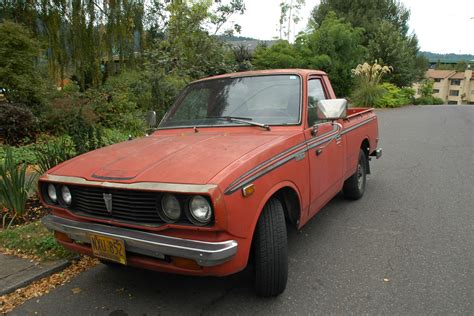 toyota old truck old parked cars 1977 toyota hilux sr5