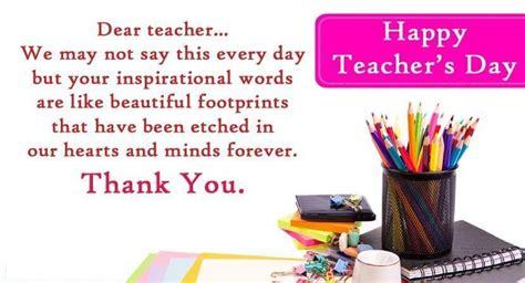 World Teacher's Day  October 5, 2018  Happy Days 365